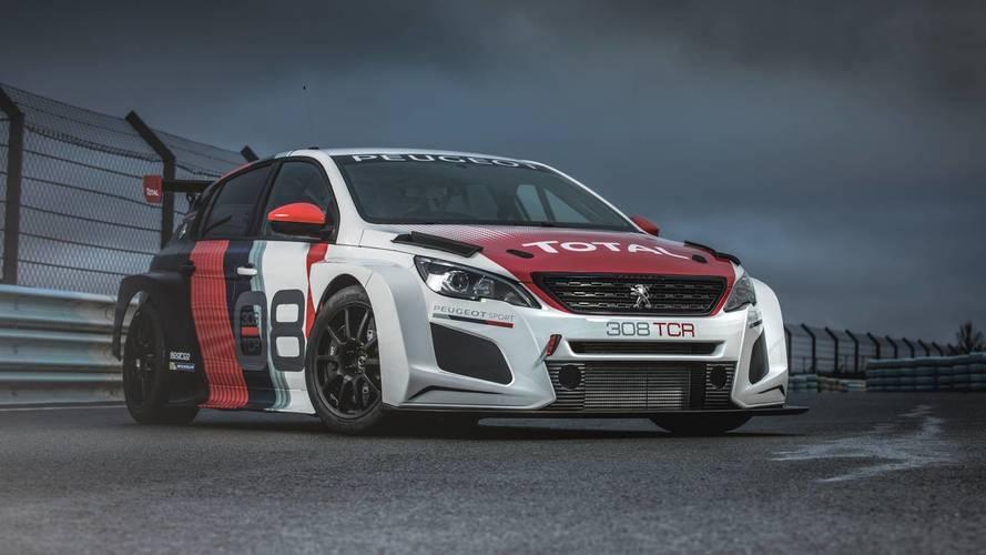 Peugeot 308TCR (2018) - Façonnée pour la compétition
