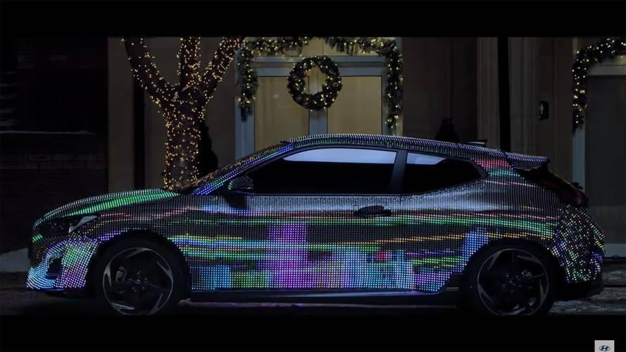 Nouveau Hyundai Veloster - Un teaser lumineux