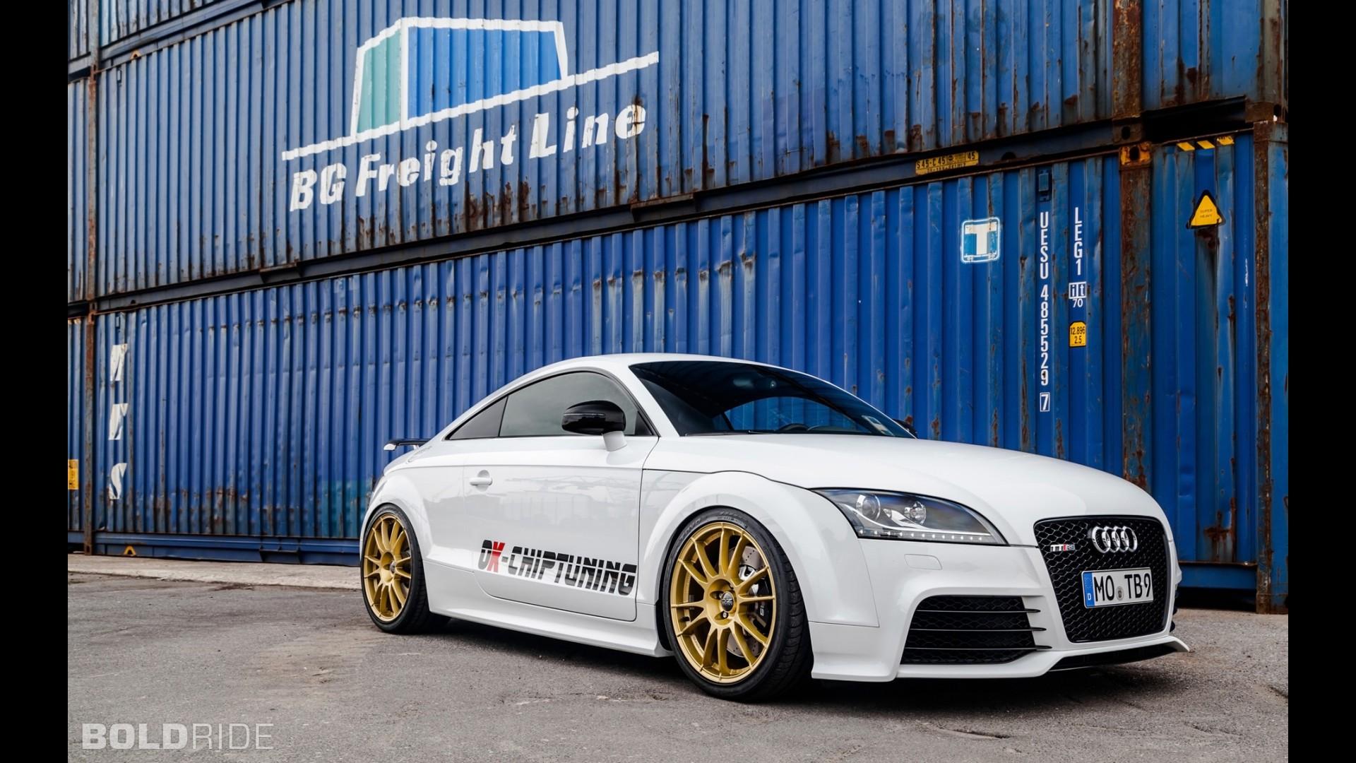 Спортивная Audi TT RS Plus от OK-Chiptuning