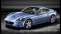 Ferrari mostra fotos oficiais da nova California com o teto rígido fechado