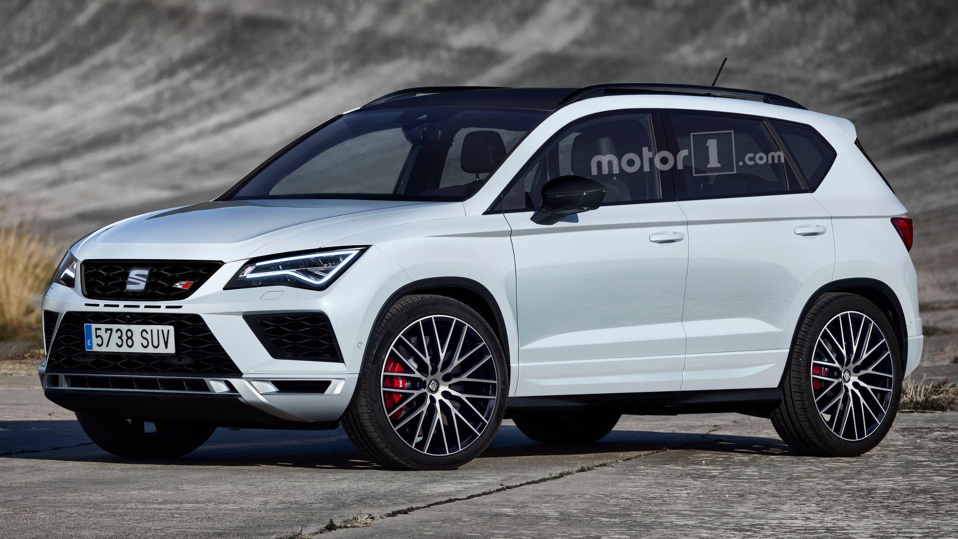 We Buy Used Cars >> SEAT Ateca Cupra might look like this