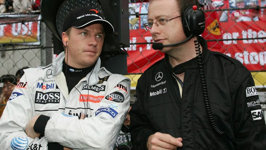 Raikkonen coy amid Mark Slade reports