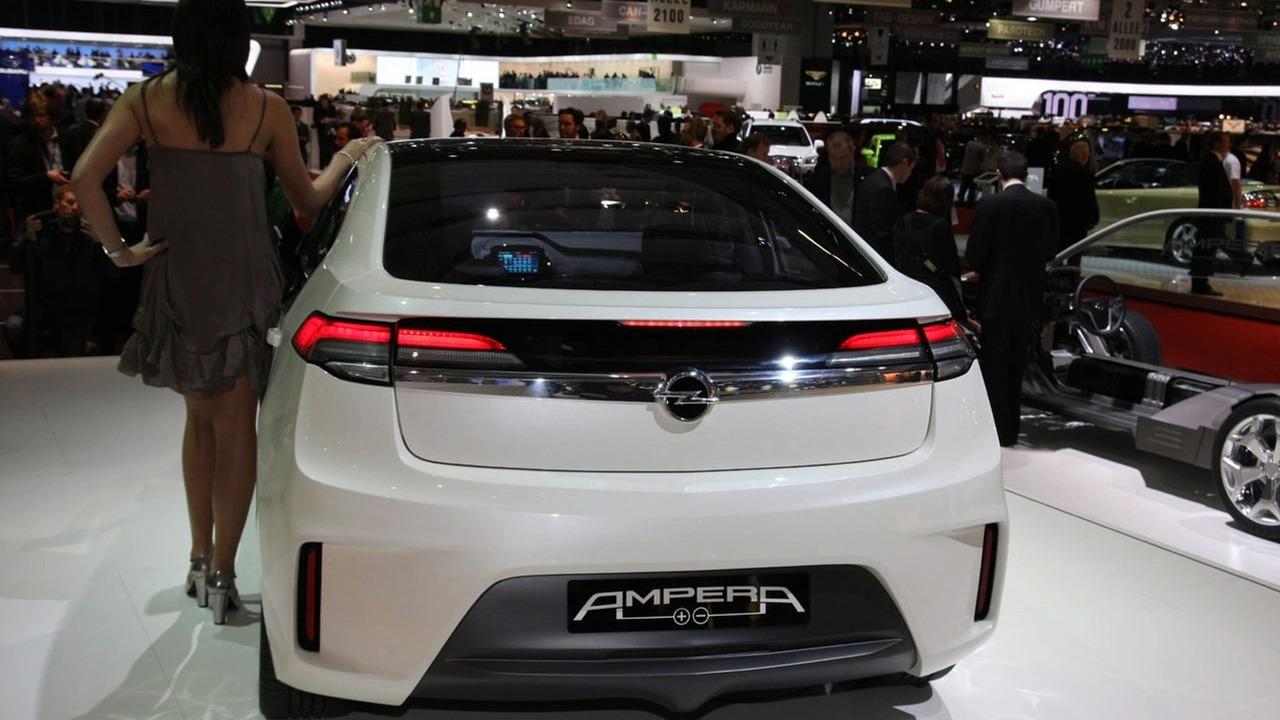 Opel Ampera at Geneva
