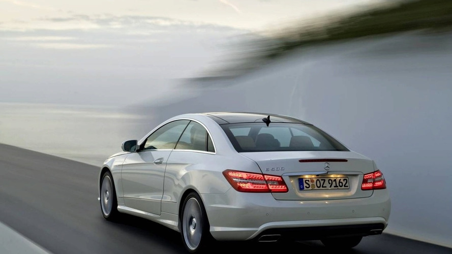New Mercedes-Benz E-Class Coupe Revealed Before Geneva Debut