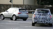 Next Generation BMW X3 Spied Next to Current Model