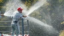 Rubens Barrichello (BRA), Winner, Italian Grand Prix, Monza, Italy, 13.09.2009