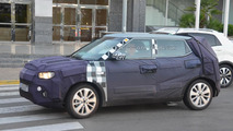 SsangYong X100 spied in southern Europe