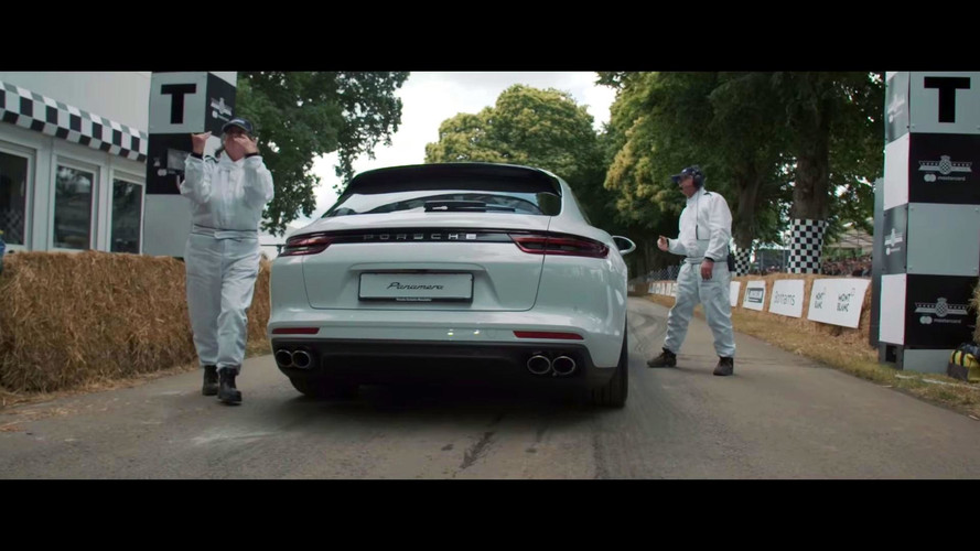 2017 Porsche Panamera Sport Turismo Goodwood