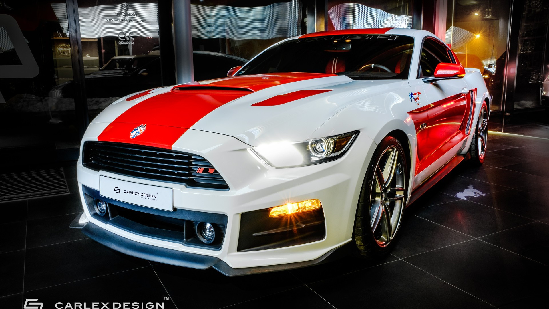 supercharged 727 hp ford mustang gt is anything but subtle. Black Bedroom Furniture Sets. Home Design Ideas