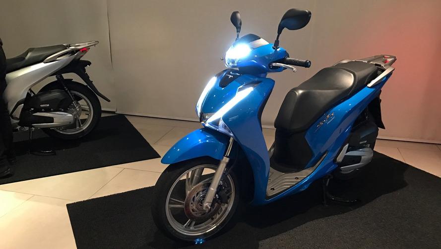 Honda lança nova scooter SH150i por R$ 12.450