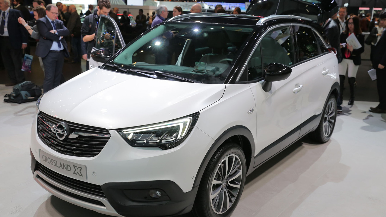 Crossland X Arrives In Geneva To Celebrate The Psa Opel