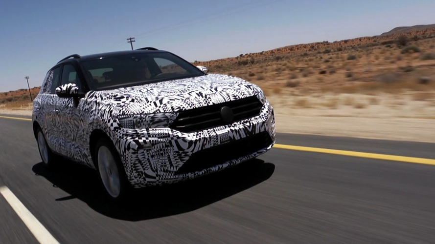 VW Takes New T-Roc Crossover Off Road... On A Walking Path