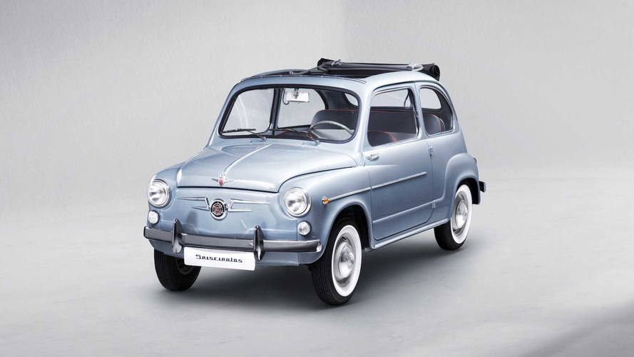 SEAT 600 Convertible Reborn After Sitting For 25 Years