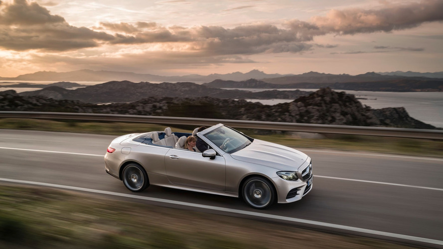 New Mercedes E-Class Cabriolet uncovered