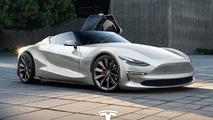 2019 Tesla Roadster tasarım yorumu