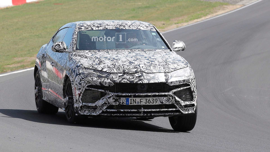 El Lamborghini Urus se enfrenta a Nürburgring
