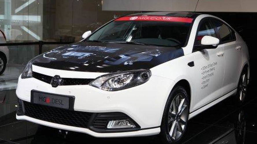MG6 available with 1.9-liter diesel engine in UK