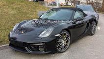 Porsche Boxster GTS spy photo
