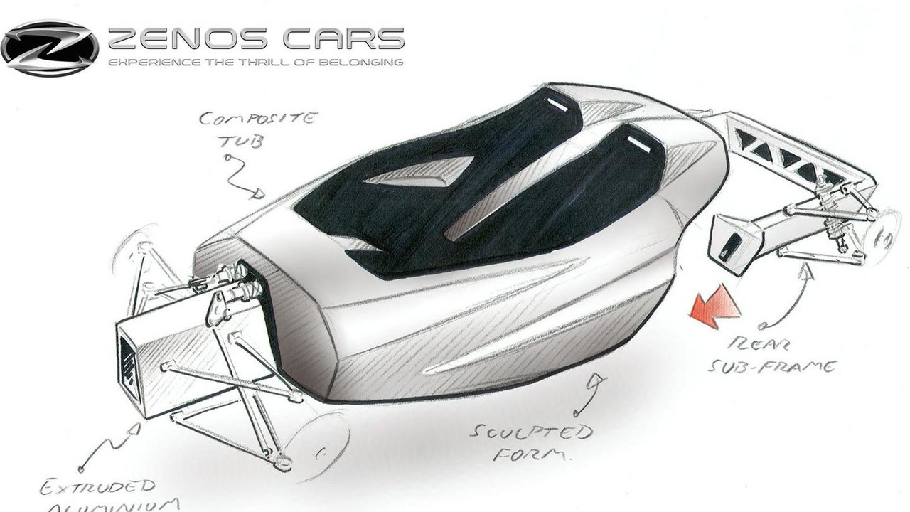 Zenos E10 design sktech