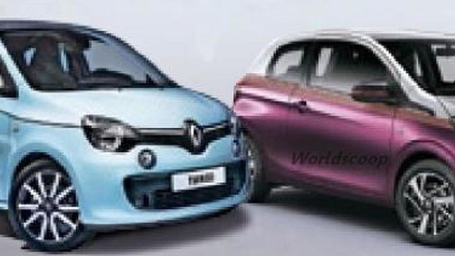 2014 Renault Twingo and Peugeot 108 break cover in double leak?