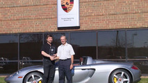 Porsche Carrera GT Drives Off With Engineering Excellence Award