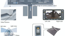 Toyota Cornering Assist Monitor illustration