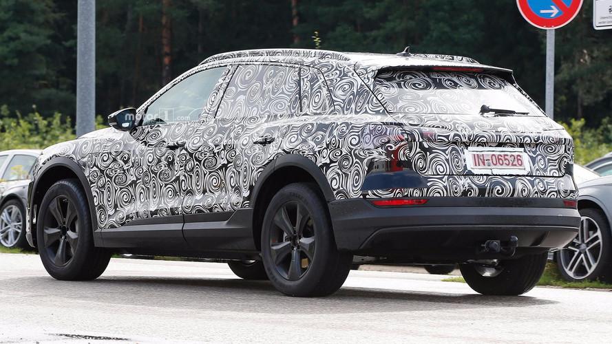 Audi E-Tron Spy Shots