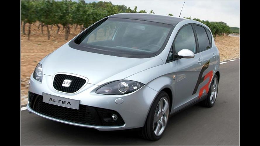 Seat Altea FR: Pikanter Minivan kommt mit einer Prise Salsa