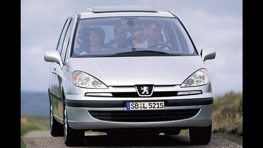 Neuer Motor für Peugeot 807: Aus zwei mach eins