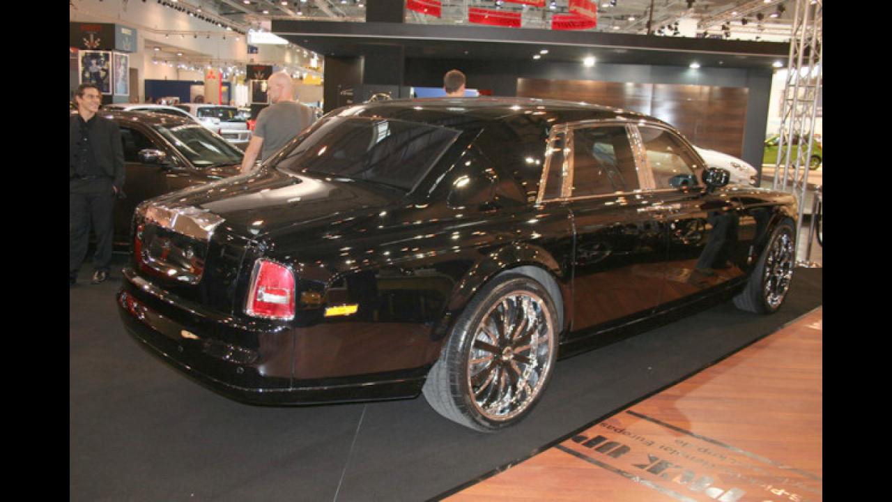 Rolls-Royce mit dicker Felge