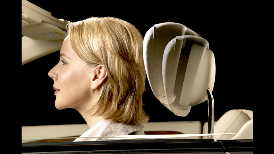 Neck-Pro: Aktive Kopfstützen in vier Mercedes-Modellreihen
