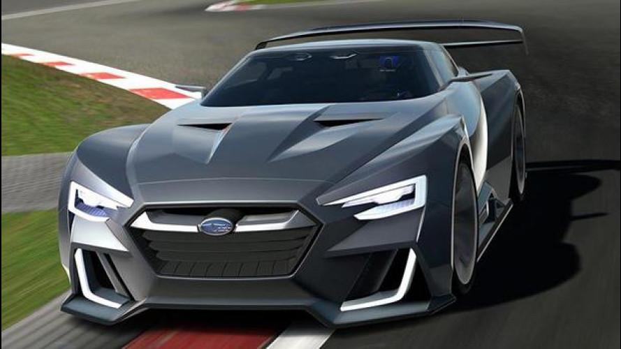 Subaru Viziv GT Vision, 591 CV per Gran Turismo 6 [VIDEO]