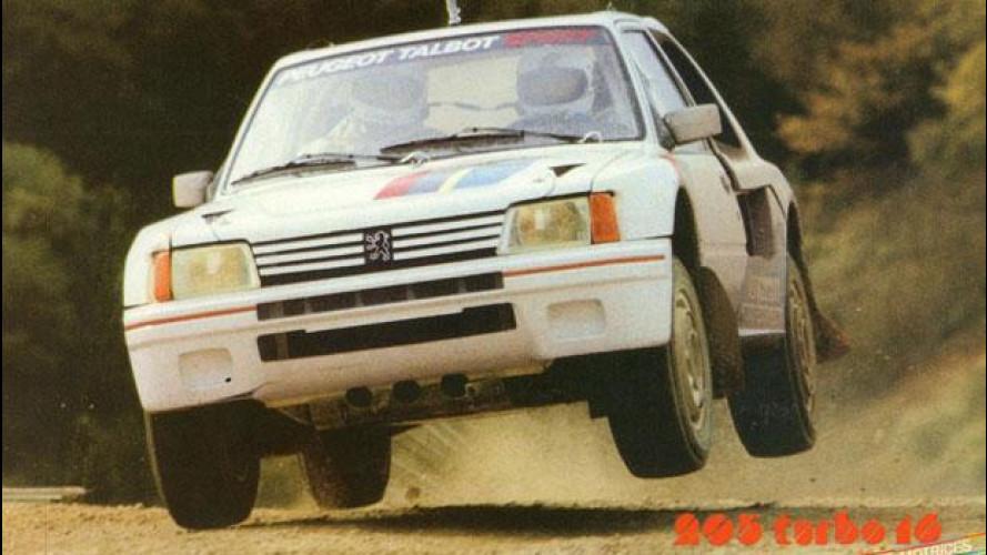 Peugeot 205 Turbo 16, gli artigli del Leone nei rally