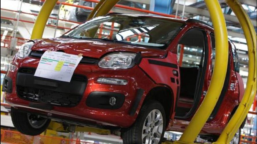 Fiat Panda, sospesa la produzione