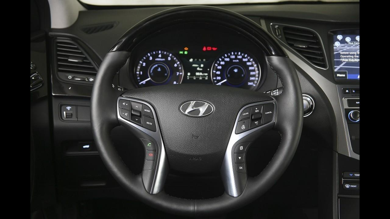 Hyundai Azera 2015 chega ao Brasil em versão única por R$ 144 mil