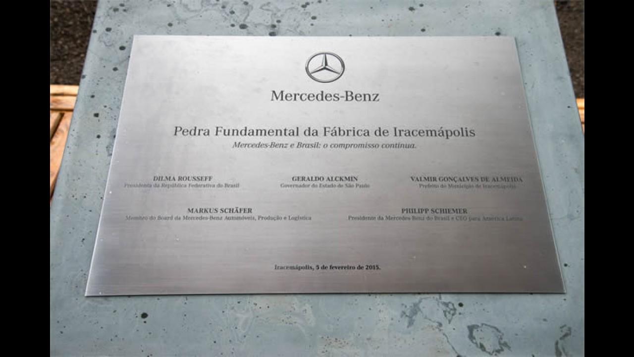 Mercedes inicia 2ª fase de obras na fábrica de Iracemápolis, que fará GLA e Classe C