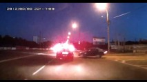 VÍDEO: Bateu e fugiu... na Rússia