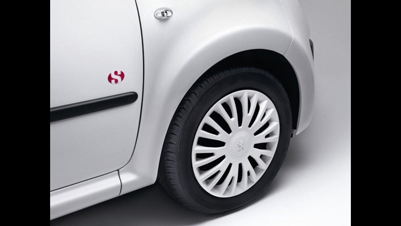Peugeot 107 Superga: Compacto ganha edição limitada inspirada em tênis