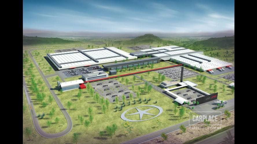JAC revela detalhes da fábrica e modelos que serão fabricados no Brasil