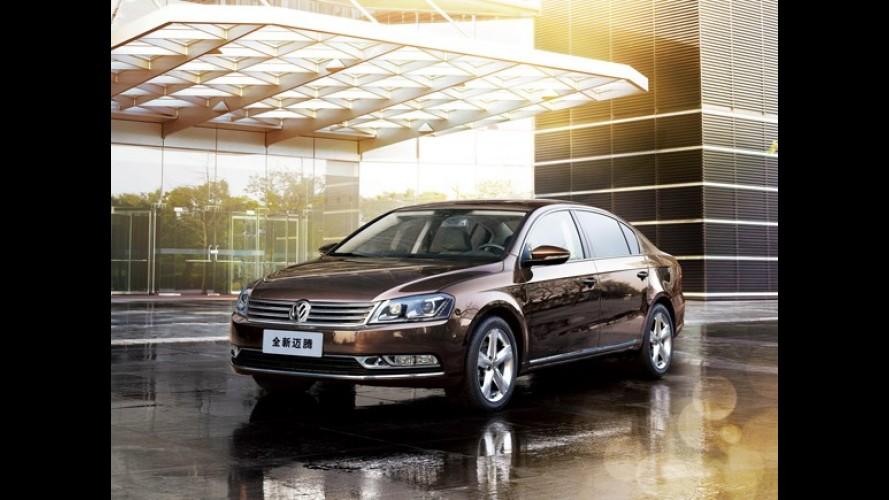 Grupo VW planeja crescimento de 60% na China até 2018