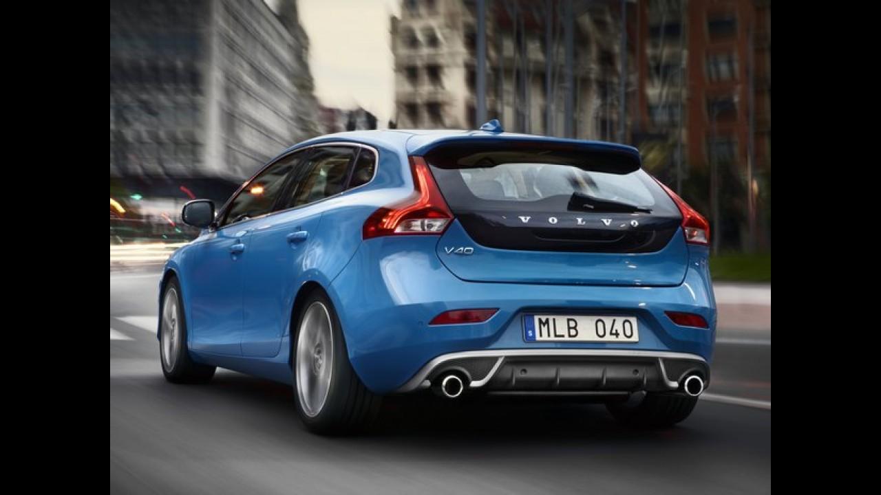 Volvo V40 R-Design de 210 cv chega ao Brasil por R$ 135.950