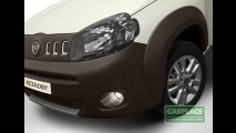 Fiat Uno Ecology - Conceito tem sistema Stop&Start e teto que capta energia solar
