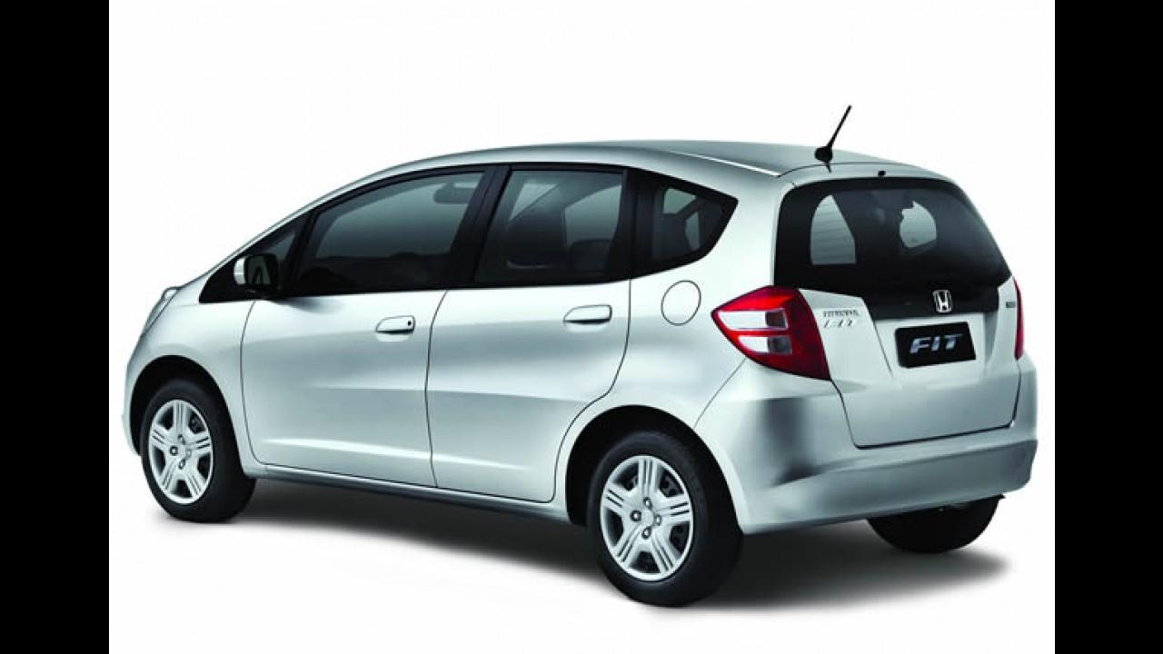 Honda lança Fit DX com airbags por R$ 51.800