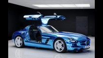 Mercedes SLS AMG Coupé Electric Drive: o superesportivo elétrico mais potente do mundo