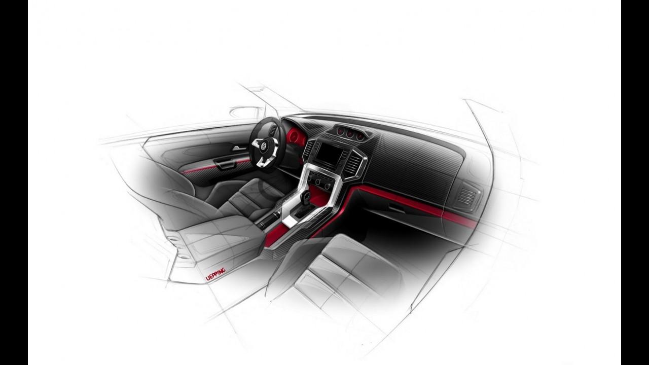 VW Amarok R-Style Concept: 272 cv e 0 a 100 km/h em 7,9 segundos