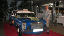 Sachinidis with his Mercedes-Benz 240 D