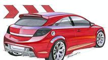 Opel Astra OPC design sketch