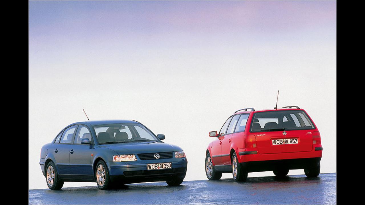 20 Jahre VW Passat B5