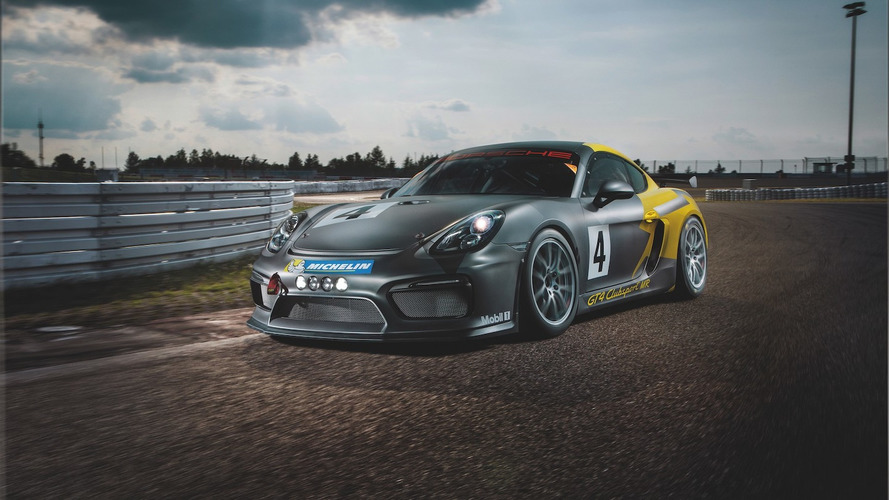 Porsche Cayman GT4 Clubsport shaves off 40 kg thanks to Manthey-Racing
