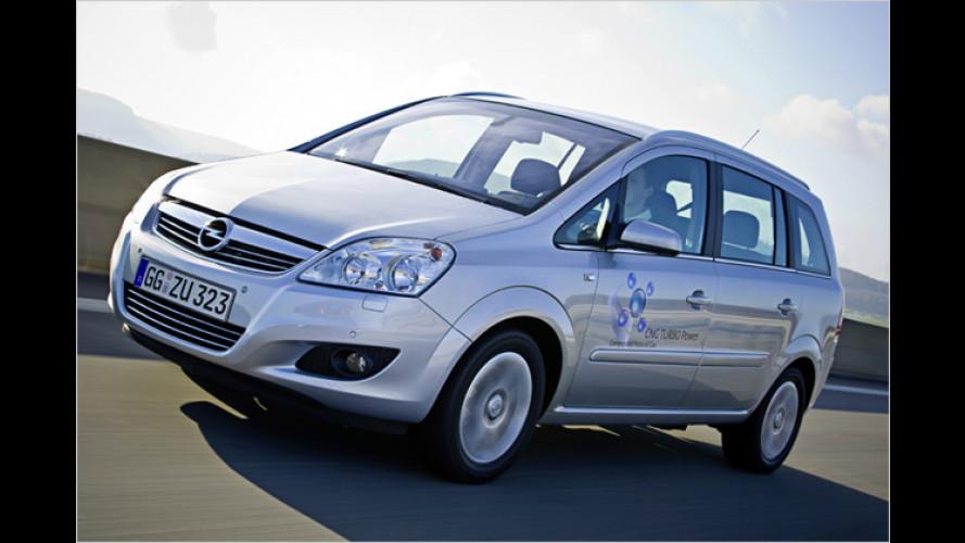 Mehr Erdgasautos: Vor allem Turbo-Modelle werden gekauft